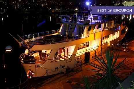 Absolute Pleasure Yacht - One Night Luxury Yacht Stay For Up to 10 With Option For Champagne on Absolute Pleasure Yacht - Save 0%