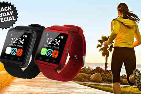 HK J and Y International Trading - Smart Watch with Bluetooth - Save 84%