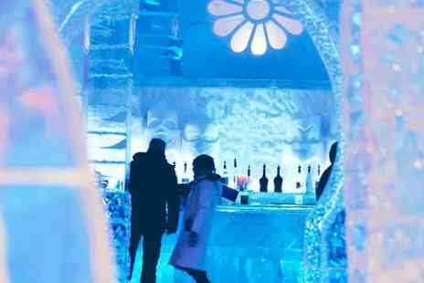 Hotel de Glace Quebec -  Quebec City 2016 Ice Hotel Stay  - Save 30%