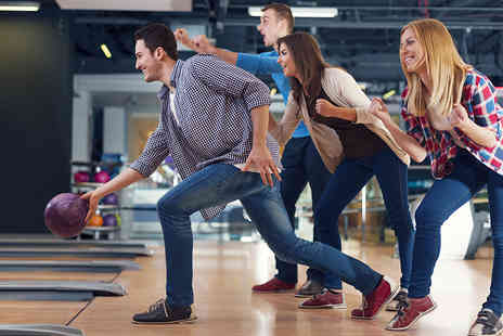 Perfection Sports and Leisure - Game of bowling and soft drinks for two - Save 67%