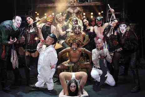 The Circus of Horrors - Ticket to The Circus of Horrors on 27th Novembe - Save 56%