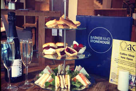 Oak Cafe - Afternoon tea and Prosecco for two - Save 38%