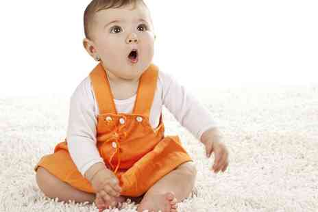 Malvern Floor care - Newborn Baby or Pet Carpet Cleaning Package  - Save 76%
