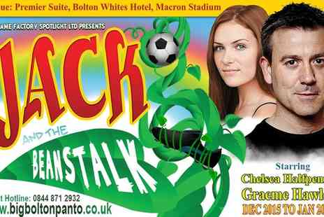 Bolton Whites Hotel - Ticket to Jack and the Beanstalk on 28 December to 3 January  - Save 25%