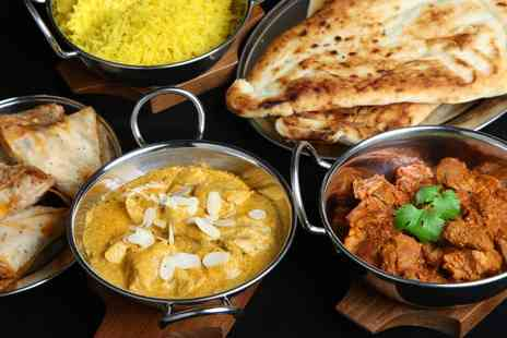 Mogul Room Kelham Island - Two Course Indian Meal with Rice and Naan for Up to Six  - Save 52%