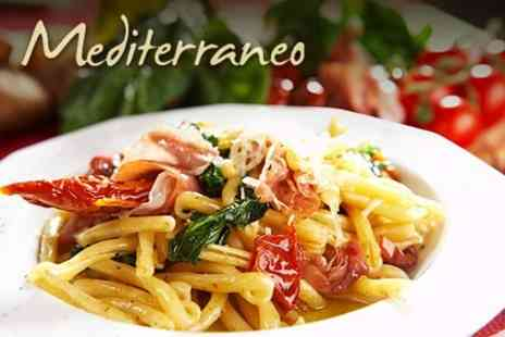 Mediterraneo in The Village - Italian Meal For Two for £16  - Save 60%
