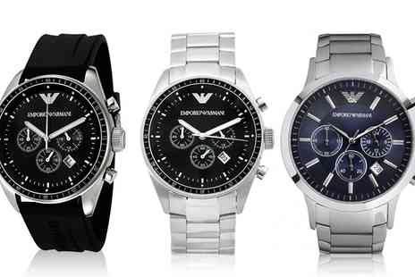 I love watches - Mens Emporio Armani Watch With Free Delivery - Save 46%