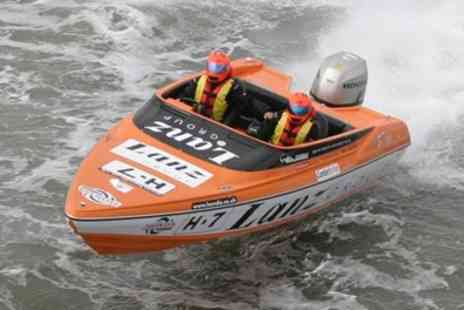 Saber Powersports - Half Day Powerboat Experience for One  - Save 65%