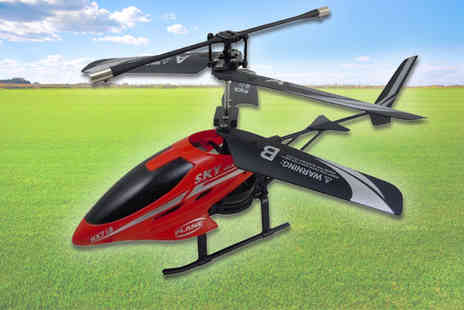 Stylematch Online - Dual Blade Remote Control Helicopter - Save 40%