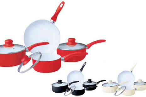 ToolCollection - Seven pc Ceramic Cookware Set - Save 0%