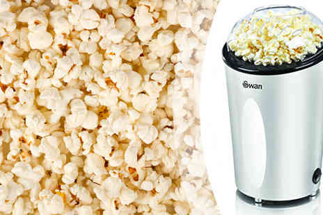 Swan Products - Swan Silver Popcorn Maker - Save 50%