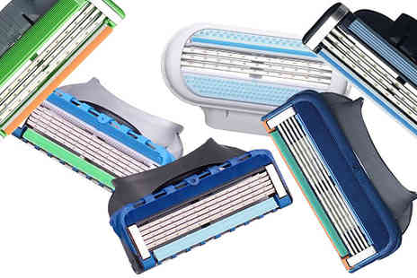 CFS Trading - Choice of Gillette Compatible Razor Blades - Save 59%