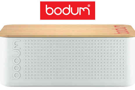 Electronics and Gadgets Direct Limited - Bodum Plastic and Bamboo Bistro Bread Box - Save 38%