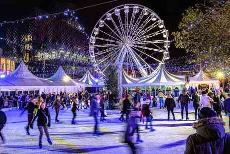 Ice Rink - 45 minute session of ice skating and big wheel ticket  - Save 31%