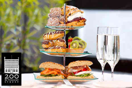 200 SVS - Afternoon tea for two  including a glass of Prosecco each  - Save 57%