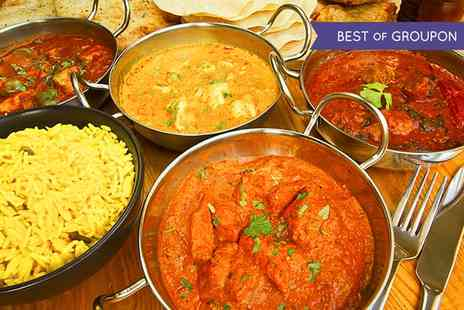 Janaki - Two Course Indian Meal with Rice or Naan for Two - Save 58%