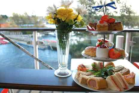 Riverview Cafe - Festive Afternoon Tea for Two  - Save 0%