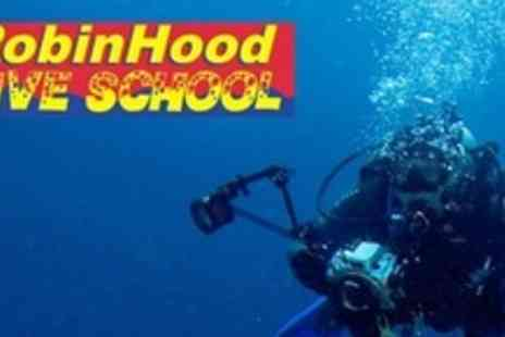 Robin Hood Dive School - Underwater Digital Photography and Dive Experience For Two With Print Each- Save 67%