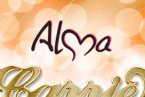 Alma Jewellery - One 18ct Gold Plated Sterling Silver Name Necklace - Save 58%