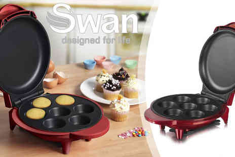 Swan Products - Swan Cupcake Maker - Save 49%
