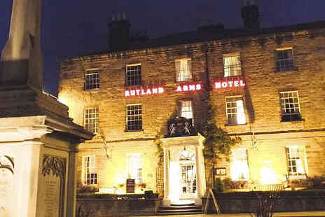 UK Minibreak - Two night Bed and Breakfast in Bakewell - Save 53%