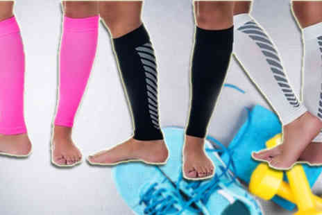 Beauty Fit - Pair of Calf Compression Sleeves - Save 82%
