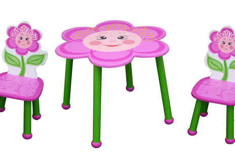 ROSTRAD - Choice of Three Childrens Themed Table and Chair Sets - Save 43%