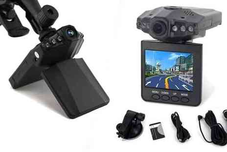 "Eskkay Limited - 2.5"" HD Car Vehicle Dashboard Camera And Night Vision Recorder - Save 78%"