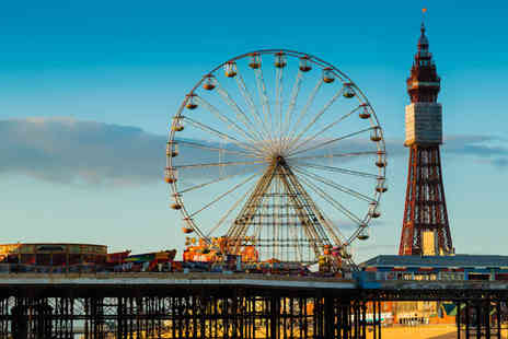 UK Minibreak - One To Two Night Stay in Blackpool - Save 67%
