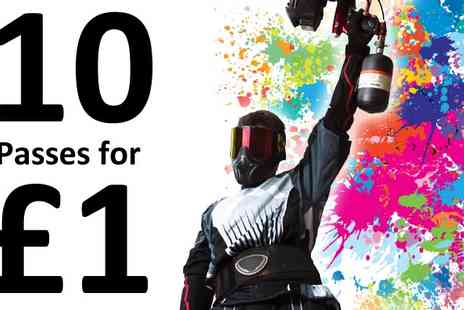 ITS Corporate Entertainment  - Ten Paintball Passes for Black Friday Special - Save 0%