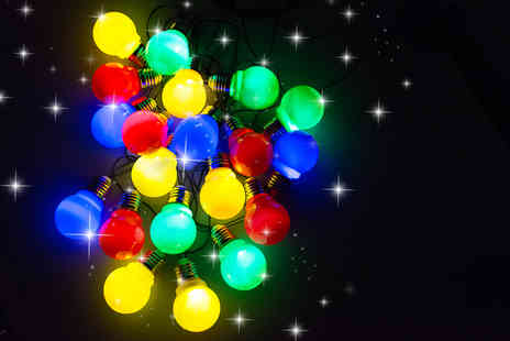 Gift Mountain - 20 Multi Coloured Party Lights - Save 80%