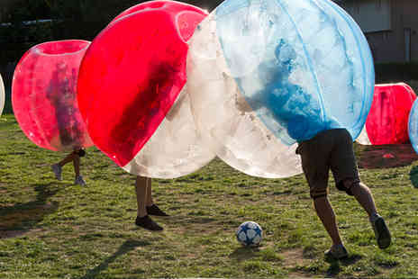 Total Courses - One hour bubble football experience for up to 10 players - Save 60%
