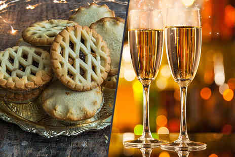 Casa Italia - Festive afternoon tea for two including a mini bottle of Prosecco each   - Save 56%
