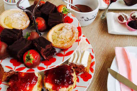 The Kandy Factory - Christmas afternoon tea for two to include truffle making - Save 50%