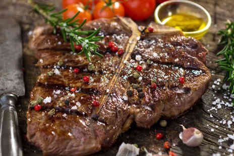 Beechill Inn - 10oz Porterhouse Steak with Glass of Wine Each for Two - Save 0%