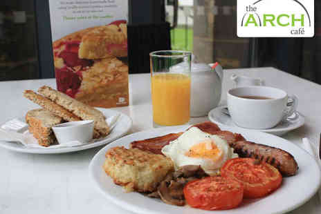 The Arch Cafe - Yorkshire Breakfast with Tea or Coffee Each for Two - Save 50%