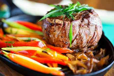 Weavers Lodge - 8oz Sirloin Steak with a Side and a Choice of Sauce for Two   - Save 0%