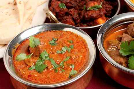 Raas Leela  - Two Course Indian Meal with Sides for Two - Save 51%