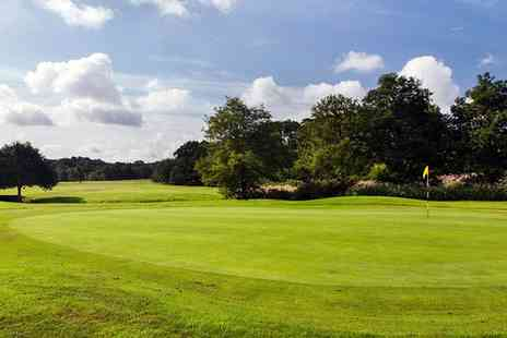 Ferndown Forest Golf Club - 18 Holes of Golf Plus 55 Range Balls For Two   - Save 49%