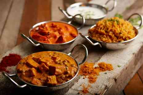Le Spice Merchant - Two Course Indian Meal with Wine for Two - Save 43%