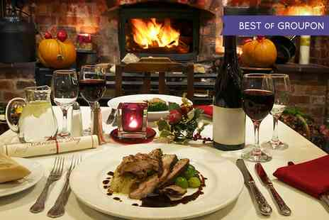 The Shoulder of Mutton - Three Course Christmas Dinner for Up to Four - Save 46%