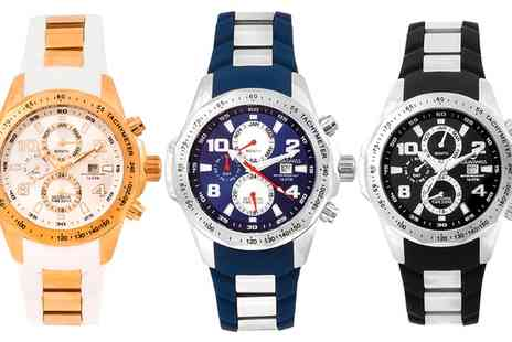 AQS Brand Inc - Aquaswiss Trax II Watch in Choice of Design  With Free Delivery  - Save 82%