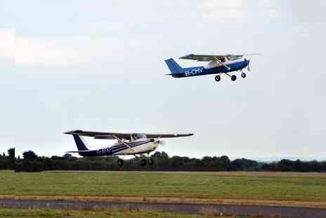Go Fly - One hour introductory flying experience including a 12 month club membership - Save 58%