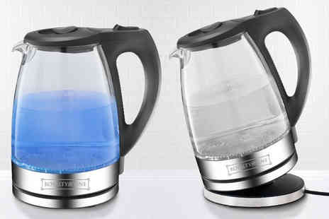 Wowher Direct - Clear glass LED kettle - Save 63%