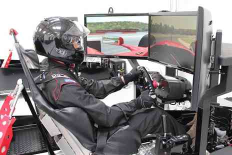 Ultimate Tuning - One hour racing simulation Race Car Experience choose a BMW M3 GT2 or a F1 steering wheel - Save 62%