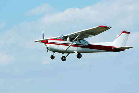 Almat Aviation - Two Hour Trial Flight Lesson in Cessna 172 or Piper 28A for One - Save 73%