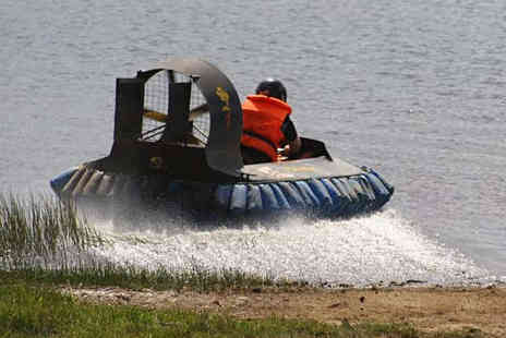 Outdoors & Dirty - 12 Month Hovercraft Racing Experience Gift Card - Save 48%