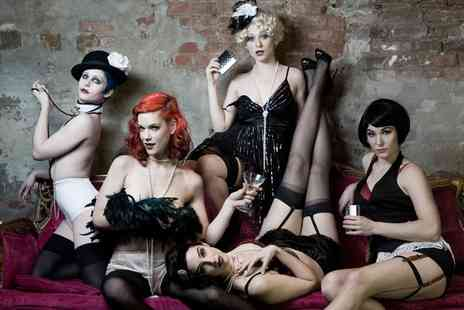 Cecils of London - New Years Eve Burlesque Party With a Glass of Champagne for One  - Save 0%