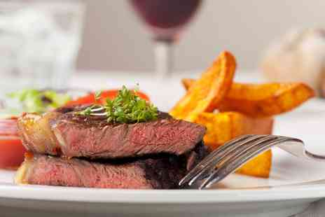 Symphony Bluebird Hotel - Steak Meal with Sides and Wine for Two - Save 0%