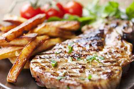 Royal George - Two Course Steak Meal with Coffee for Two  - Save 35%
